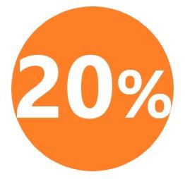 20% black friday