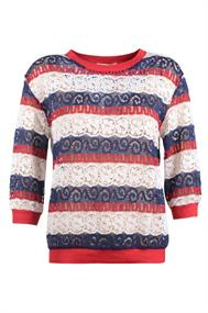 D shp sweater 3/4