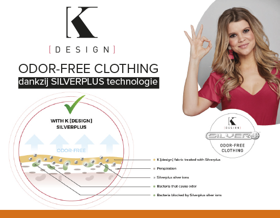 Geen zweetgeurtjes bij K-design